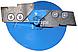 Льодобур Хмельницький Гном 130мм. (ступінчасті ножі)., фото 3