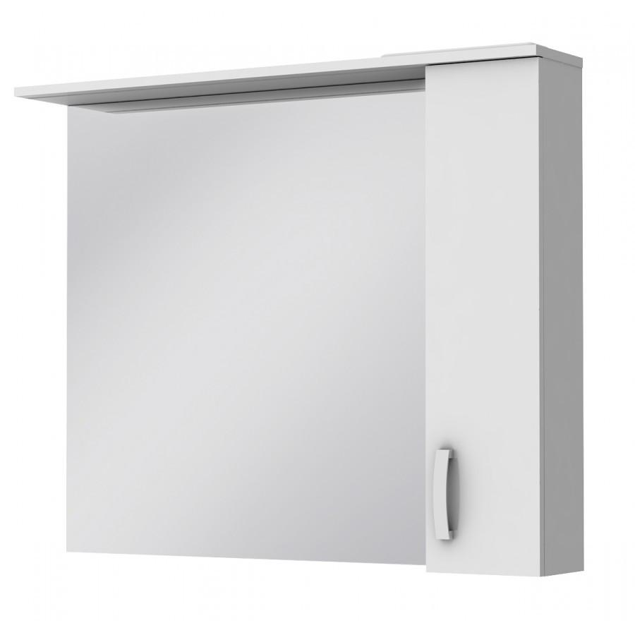 Зеркальный шкаф Ювента Trento TrnM-100 правый, 1000х166х816 мм
