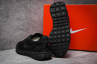 Женские кроссовки Nike Free 3.0.Черные,сетка, фото 2