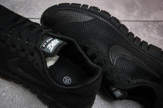 Женские кроссовки Nike Free 3.0.Черные,сетка, фото 3