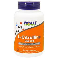 NOW Foods L-Citrulline 750mg 90caps