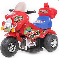 Детский мотоцикл M-026-R, на аккумуляторе, красный***