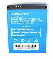 Аккумулятор к телефону Highscreen Pure F 6000mAh