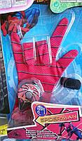 Перчатка Spiderman Спайдермен с фонариком