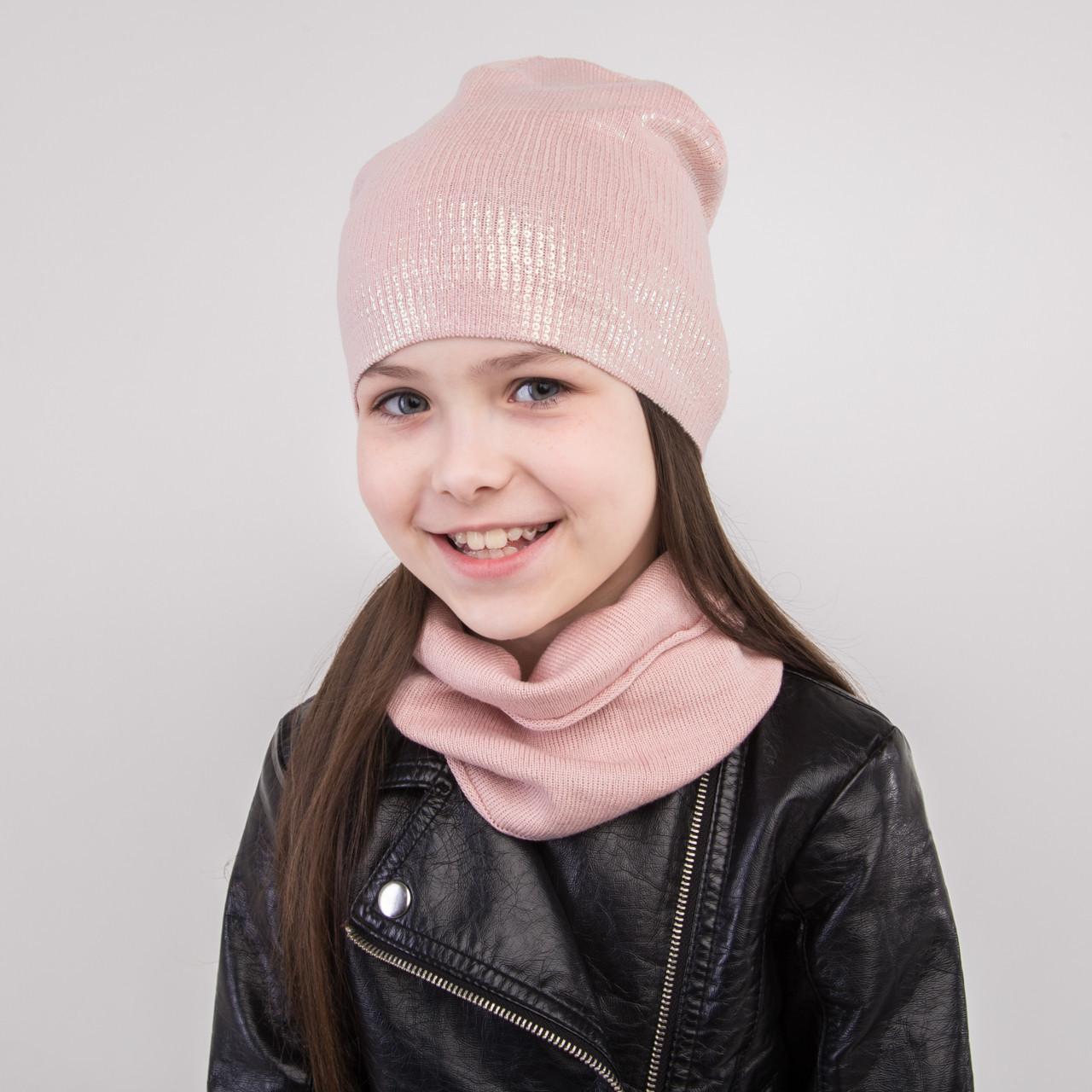 Модный комплект с пайетками для девочки - Артикул 2288
