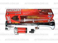 Сигнал 1-дудка возд. СА-13004 12V металл хром 400mm