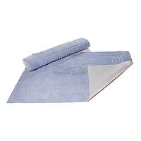"Коврик для ванной Lotus ""Ноги"" серый 50х70 см (svk-2624-11)"