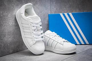 Кроссовки женские Adidas Superstar, белые, фото 2