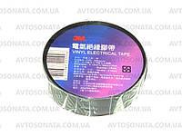 Изолента 3M 25 м x19мм х0,13мм черная