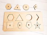 Сортер - Пазл AFOX геометричні фігури