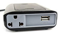 Преобразователь напряжения мощность 200Вт SUVPR DY-200N 12В Автомобильный инвертор USB 5в АС 220в
