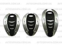 Накладки на педали 027 black/chrome, фото 1