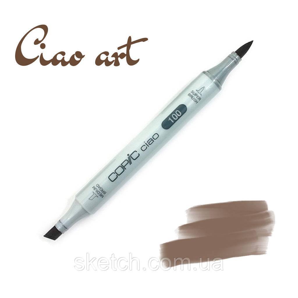 Copic маркер Ciao, #E-49 Dark bark