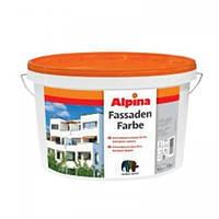 Краска в/д Alpina Expert фасадная Fassadenweiss B3 9,4 л