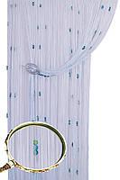 Кисея шторы нити Галактика № 111