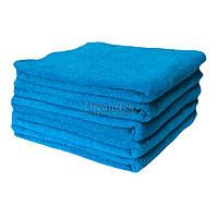 """Набор махровых банных полотенец для отеля Lotus """"Basic"""" бирюзовый 70х140 см 5 шт (svk-4312)"""