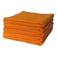 """Набор махровых банных полотенец для отеля Lotus """"Basic"""" оранжевый 70х140 см 5 шт (svk-4316)"""