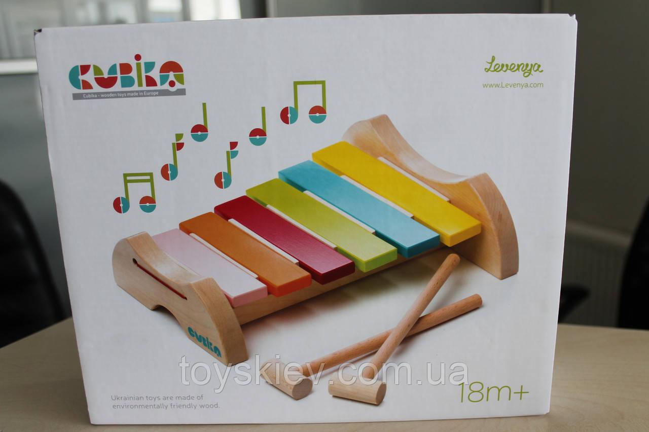 Ксилофон 6 тонов LKS-1 Cubika