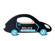 """Машинка деревянная  Hega """"Полиция"""" (132)"""