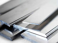 Алюминиевая полоса 120х2; 120х5; 120х10 мм АД31 в аноде, без покрытия цена купить  на складе