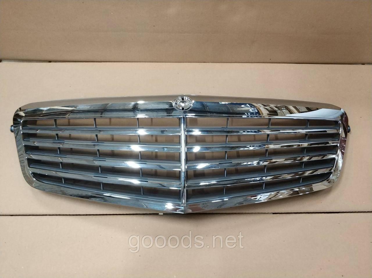 Решетка радиатора Mercedes W212 2009-2013