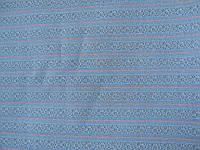 Костюмная ткань серая в полоску (отрез)