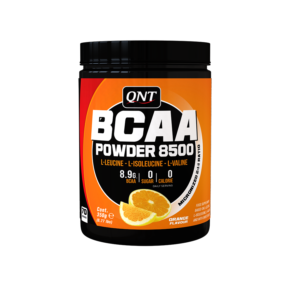 QNT_BCAA Powder 8500 350 г - Orange