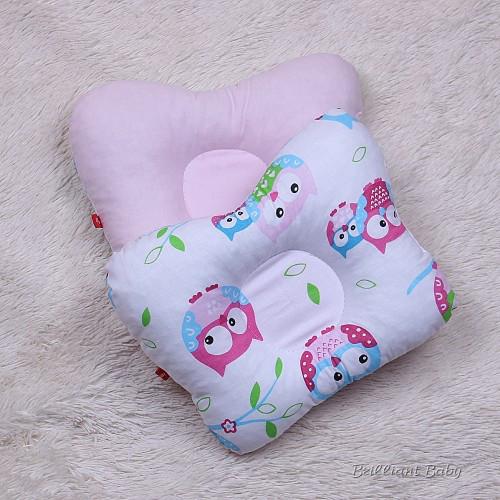 Ортопедическая подушка двухсторонняя Совушка девочка