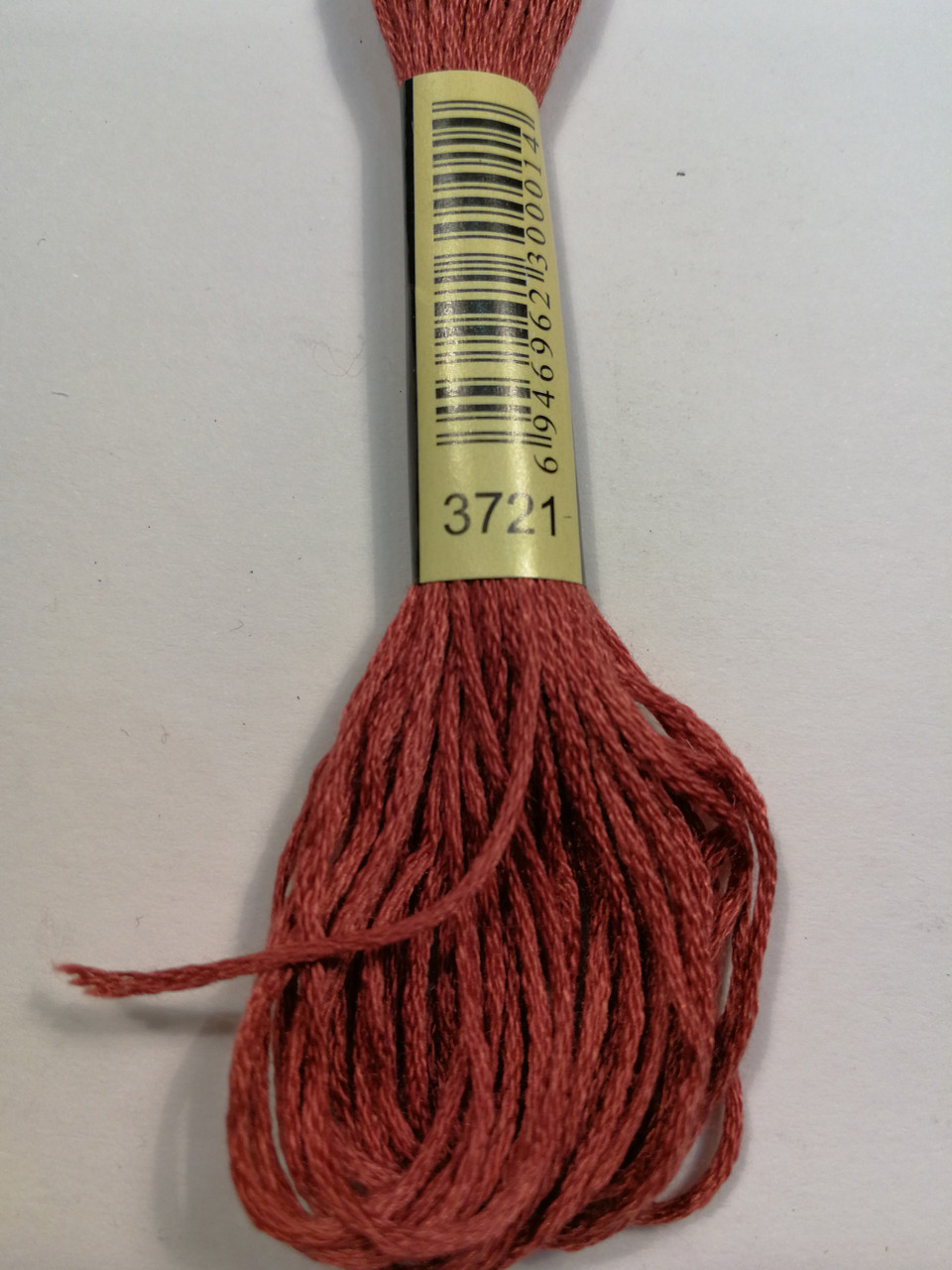 Мулине СХС 3721 розовые ракушки темный