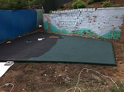 Двухслойное покрытие для детской площадки г.Харьков 10