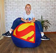 кресло Груша Superman, бескаркасное кресло мешок, мягкий пуф