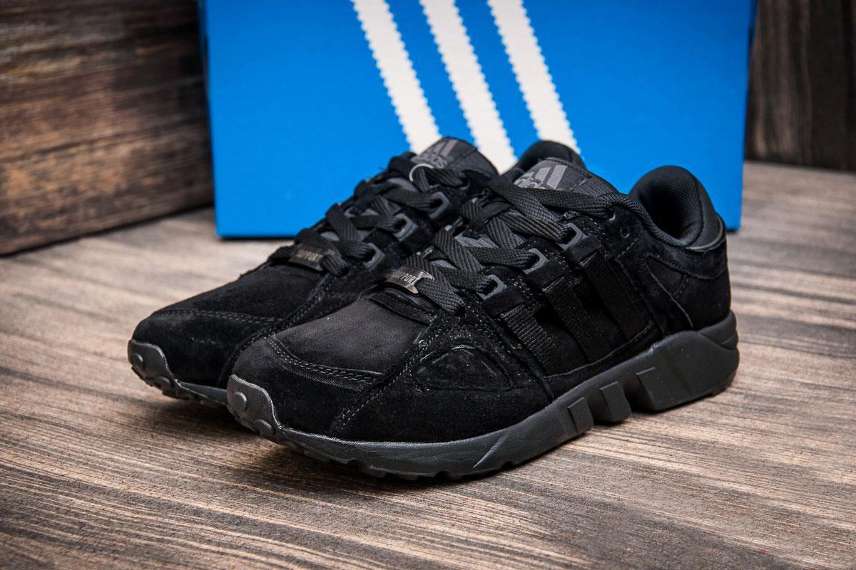 Кроссовки мужские Adidas Support Equpment, черные (1040-3) размеры в наличии ► [  43 (последняя пара)  ] (реплика)