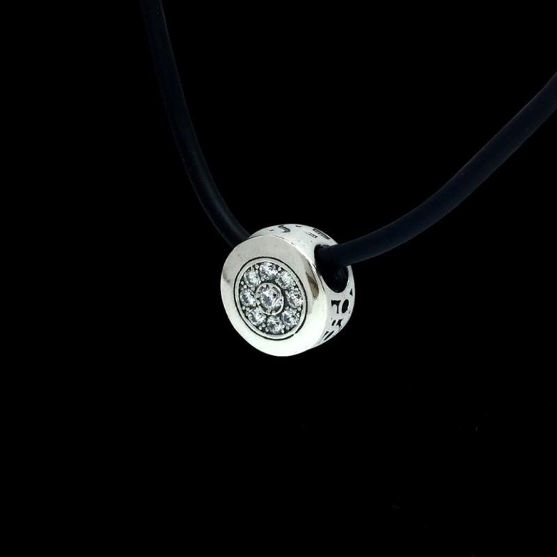 Подвес (кулон) из серебра с камнями