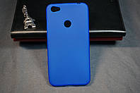 Чехол бампер силиконовый Xiaomi Redmi Note 5A prime Ксиоми Сяоми Ноут Ноте цвет синий