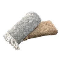 """Полотенце для рук и лица TAC """"Gilbert"""" 50х90 см серое (svk-1676)"""
