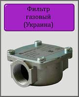 """Фильтр газовый """"таблетка"""" алюминиевый 1/2"""""""