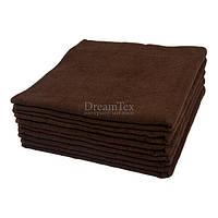 """Полотенце банное для отеля Lotus """"Basic"""" коричневый 70х140 см (svk-3740)"""