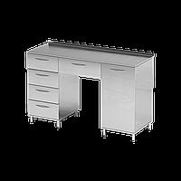 Стол медицинский лабораторный из нержавеющей стали   Цена лабораторного стола из металла - производителя Киев, фото 1