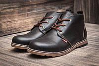 Зимние кроссовки Levi's, коричневые (3814-2),  [  45 (последняя пара)  ]