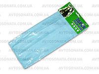 Тряпочка микрофибра чистящая 9846B для стекла голубая 35см*35см, фото 1