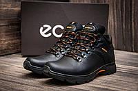 Зимние кроссовки Ecco Natural Motion, черные (3816),  [  40 (последняя пара)  ]