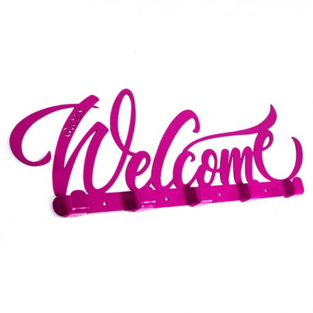 Интерьерная вешалка настенная Welcome