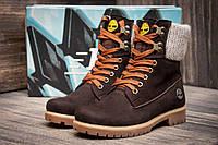 Зимние ботинки Timberland, коричневые (3932-7),  [  36 (последняя пара)  ]