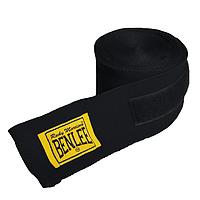 Бинты боксерские 300 см. BENLEE Handwraps эластичные черного цвета хлопок