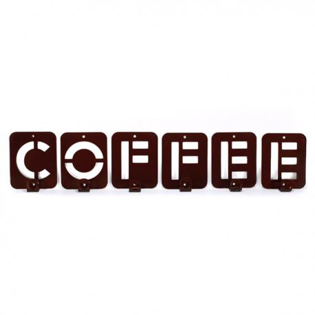 Интерьерная вешалка настенная Coffee