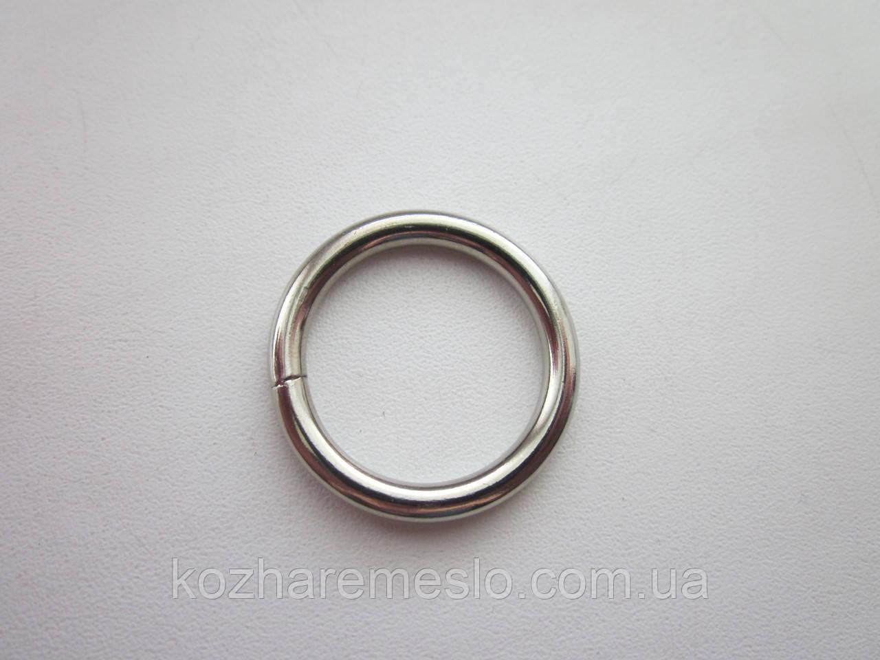 Кольцо проволочное 4  х 25 мм никель