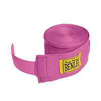 Бинты боксерские 300 см. BENLEE Handwraps эластичные / розового цвета / хлопок