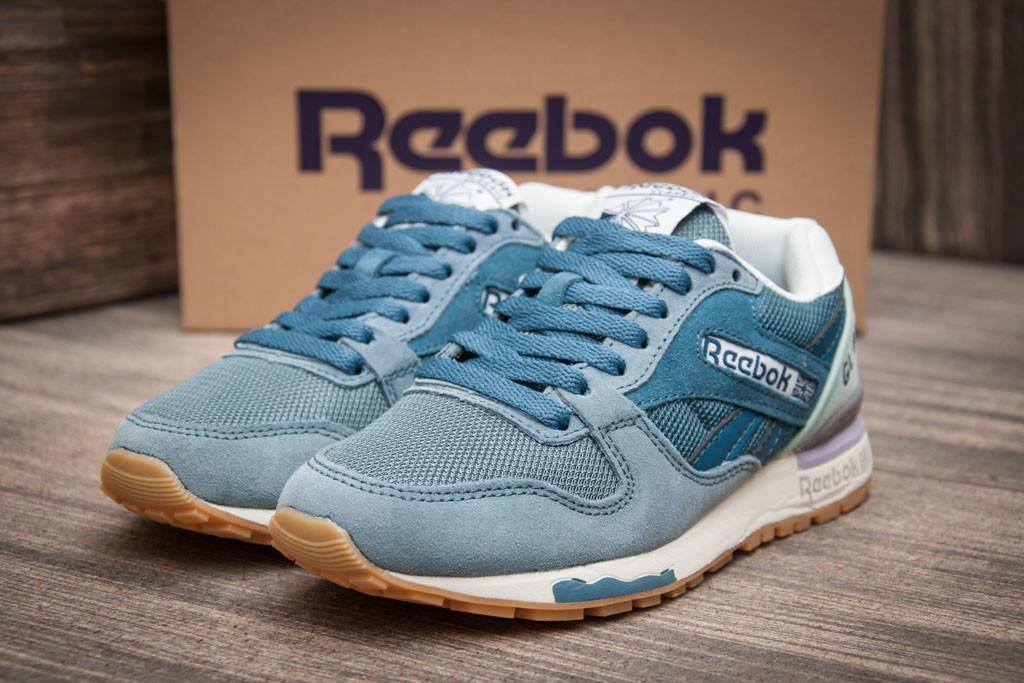 Кроссовки женские   Reebok Classic, синий (1079-1),  [  36 37  ] (реплика)