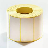 Этикетка самоклеящаяся 100х40мм полуглянцевая для термотрансферной печати (1000 шт)