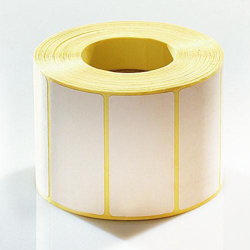 Термоэтикетка самоклеящаяся 100х40 мм, термо ЭКО (1000шт)